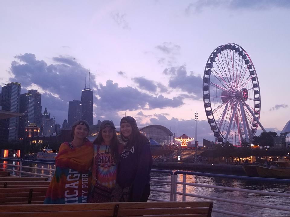 Sunset Lake Cruise, Chicago