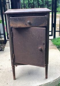 Rusted Tool Cabinet