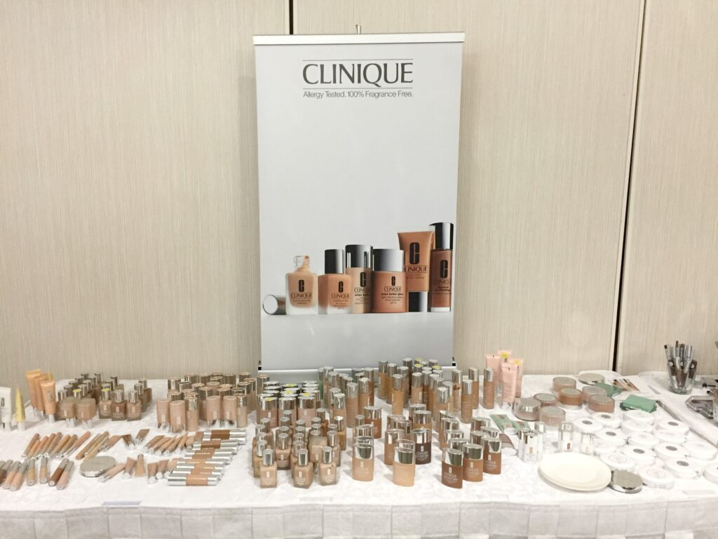 Clinique Makeover Party