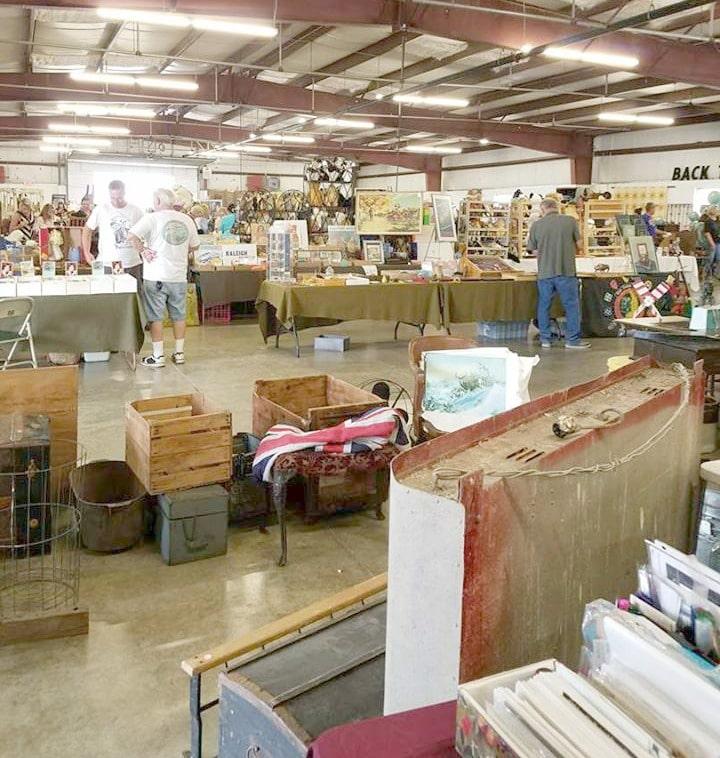 Third Sunday Market antiques