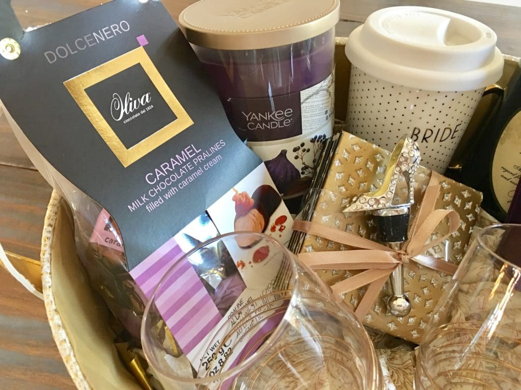 Bride-to-Be Gift Basket